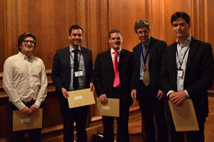 2014 Winners: Oliver Robinson, Michael Bloomfield, Oliver Howes and Ulrich Ettinger